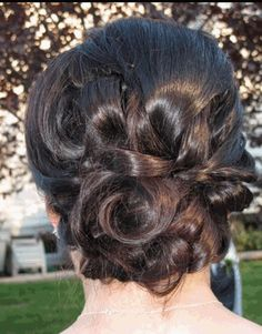 Wedding hair, updo, prom, style  by Lyndsey Politte