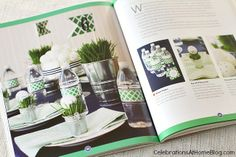 Sneak Peek: Stylish Kids' Parties book by Kelly Lyden #stylishkidsparties #whhostess #golf #boyparties