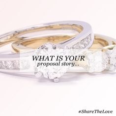 What is your proposal story? Join us on Facebook and share yours. #ShareTheLove https://www.facebook.com/Gemporia