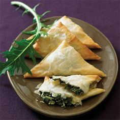Winter Green Turnovers