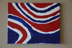 Waves of patriotism