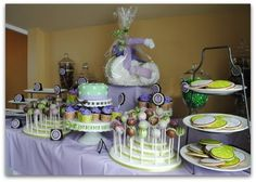 dessert tables, baby shower desserts, baby shower ideas, diaper cakes, cake pop, parti idea, baby shower parties, babi shower, baby showers