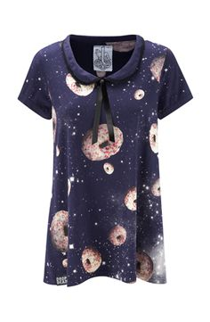 Space Donuts t-shirt dress, Drop Dead