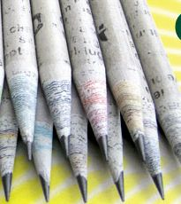 Product: Pencils  Company: Tree Smart Store  -Always going to need pencils! These are recycled from newspapers! So sweet and insanely cool! #greendorm