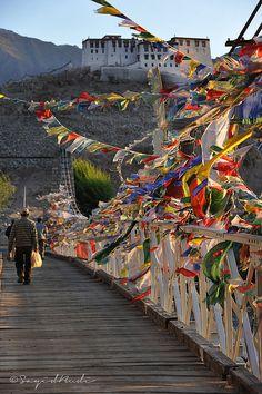 Stakna Monastery #Ladakh India