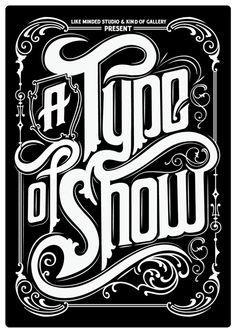 type exhibition poster #typo #typography #lettering #logo #design #font #handwritten