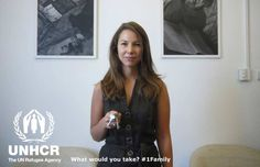 The one thing I would take with me would be the keys to my house. If I were forced to flee, the hope of returning home one day would be a source of comfort. Laura from the UK - Visit 1family - http://unhcr.org/1family/