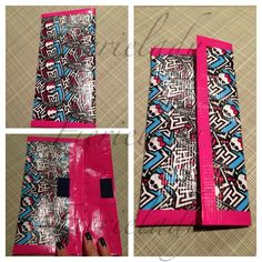 Accessorize by adding a homemade duct tape wallet to your Monster High backpack & lunchbox! #WhySchoolRules