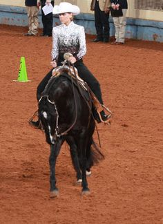 Spring Horse-Training Tip: Get correct lope departures with minimal cues.