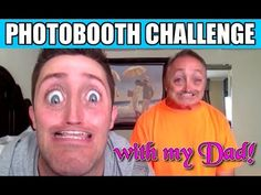 Photobooth Challenge With My Dad!