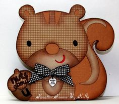 "Here is the recipe---  Card Size: 4.5""x5""  Cricut: Create A Critter (cut at 4.5)"