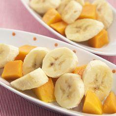 No-Cook Mango-Banana Puree