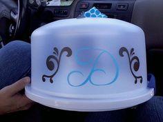 Decorative Cake Carrier