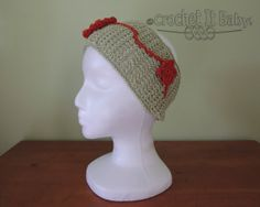 Crochet Wide Headband 2 Widths  PATTERN ONLY by CrochetItBaby, $3.50
