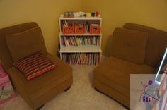 Playroom reading center