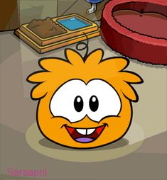 orange puffle :)