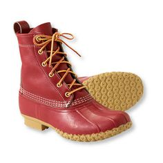 L.L. Bean Boots in special-edition red, $99 (Made in Maine) #madeinusa #madeinamerica