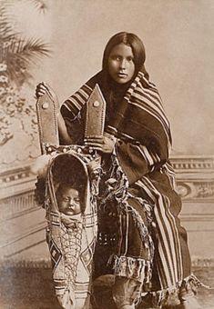 Kiowa Mother and Child