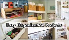 Easy Organization Projects diy project