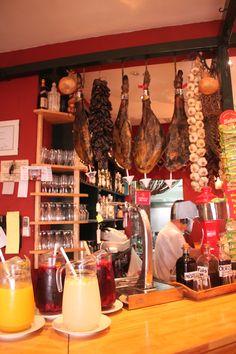 typical Spanish restaurant