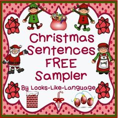 FREE! Try out the worksheets that go with Christmas Sentences Compare and Contrast!
