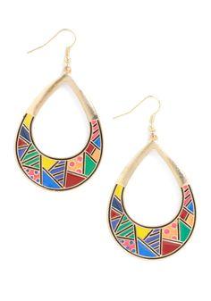 Retro earrings ♥