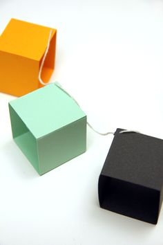 DIY: geometric garland