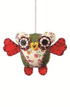 Creative Co-Op Spotted Owl Ornament