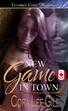 New release. New Game in Town by Cora Lee Gill. A woman accidentally sends a list of sexual fantasies to a sexy hockey player and is shocked when he wants to make her wildest dreams come true.