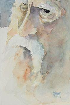 Moses by Randy Meador Watercolor