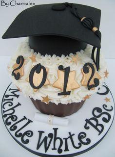 Graduation Giant Cupcake