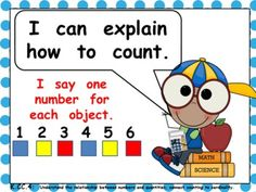 Kindergarten Common Core Math I Can Statement Posters $