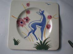 Vintage French Antilope Dish by GiddyNowVintage on Etsy, $14.00