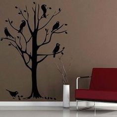 Bird Tree Wall Decal