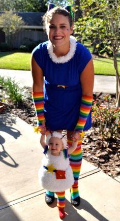 Rainbow Brite | 22 Creative Halloween Costume Ideas For '80s Girls holiday, 80s costum, 80s halloween costume ideas, 80s girl, halloween costumes, babi, costumes rainbow brite, costum idea, creativ halloween
