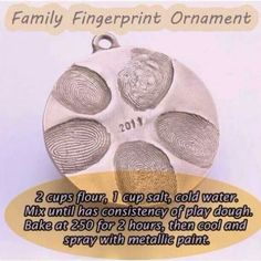 I also use this recipe for all sorts of Christmas ornaments. Very easy to make. :)
