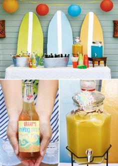 Surf Shack Style Beach Birthday Party