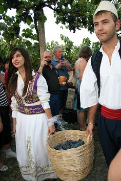 Albania has great traditions of wine making that trace back to the Illyrian times. When you are around, do not miss a chance to have a sip of Albanian wine.
