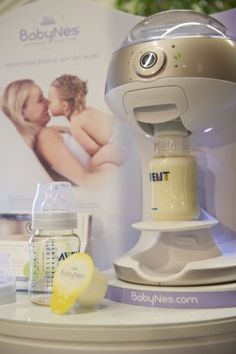 "A baby formula ""Keurig-type"" bottle maker. Crazy!"