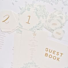 wedding day stationery / paper & type.