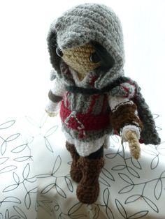 Ezio Auditore da Firenze as he appears in Assassins Creed 2.