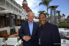 "We talked to Assistant Vice President and GM, Andre Zotoff (Who is also a Culinary Master Chef), who shared part of  the 126 year old history of Hotel del Coronado.  ""When folks drive across the bridge and enter our resort, they are transported to a magical place!  Many guests have stated this is one of their ""Bucket List"" vacations and really enjoy our resort, their room/suite, world class beach and the food!  We hope to not only meet their expectations, but ""Exceed"" them""!"
