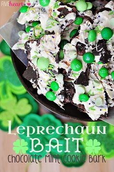 Leprechaun Bait for the upcoming holiday! #holiday #personalized #sterling explore thesterlinghut.com