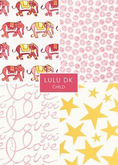LuLu DK Child textiles for Schumacher
