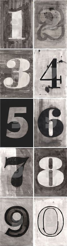 10 numbers by Giuseppe Salerno