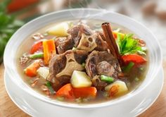 Ox Tail Soup + recepie