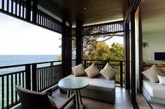 PHUKET | A verandah at Hotel Pullman Phuket Arcadia Naithon Beach, Thailand | via cntraveller.com