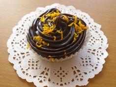 Chocolate chip & orange cupcakes