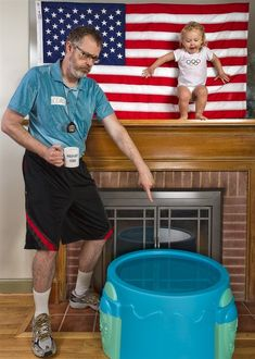 This guy's father/daughter pictures are the funniest thing ever... check out the gallery.