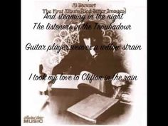 Al Stewart. Clifton in the Rain. From the first album Bed-Sitter Images. 1967. One of the finest lyricists of recent years.